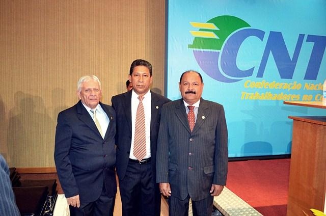 Presidente do SINTCVAPA é o novo Diretor de Assuntos Internacionais da CNTC
