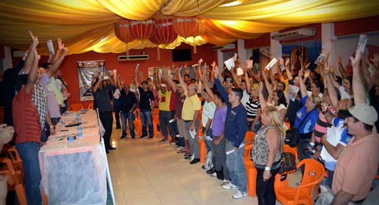 SINTCVAPA e Comerciários dão início à campanha salarial de 2013