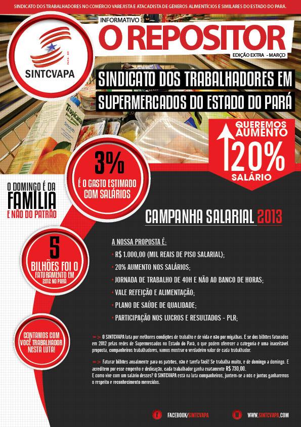 Começam as ações da Campanha Salarial 2013