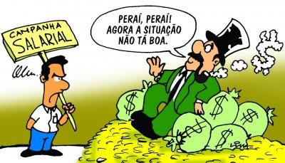 Charge Campanha Salarial