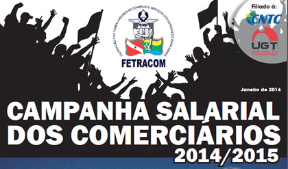 Jornal dos Comerciários – Campanha Salarial 2014