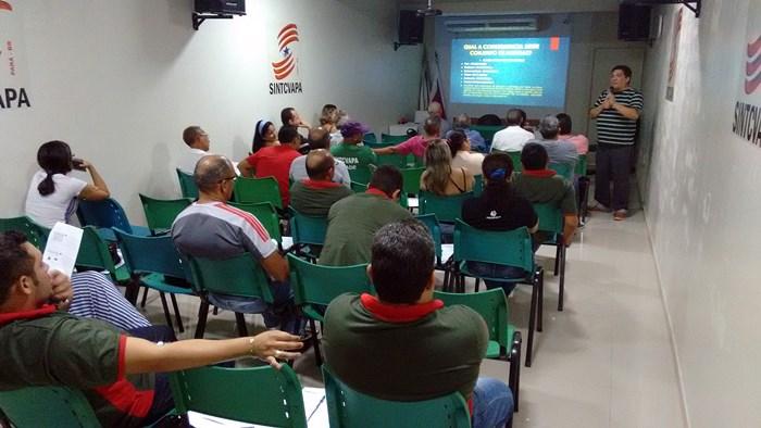 Sindicato promove palestra para dirigentes e lideranças sindicais