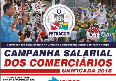 Informativo Campanha Salarial Unificada FETRACOM
